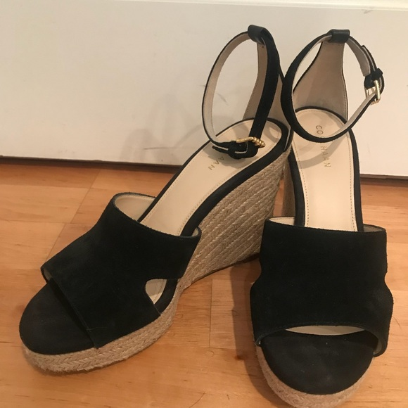 de6bc8a7a45 Cole Haan Giselle High Espadrille Wedge